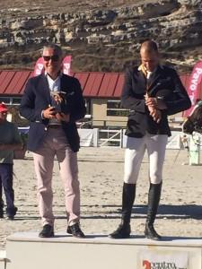Hipica Porceyo Podium Campeonato de España de caballos nacionales.